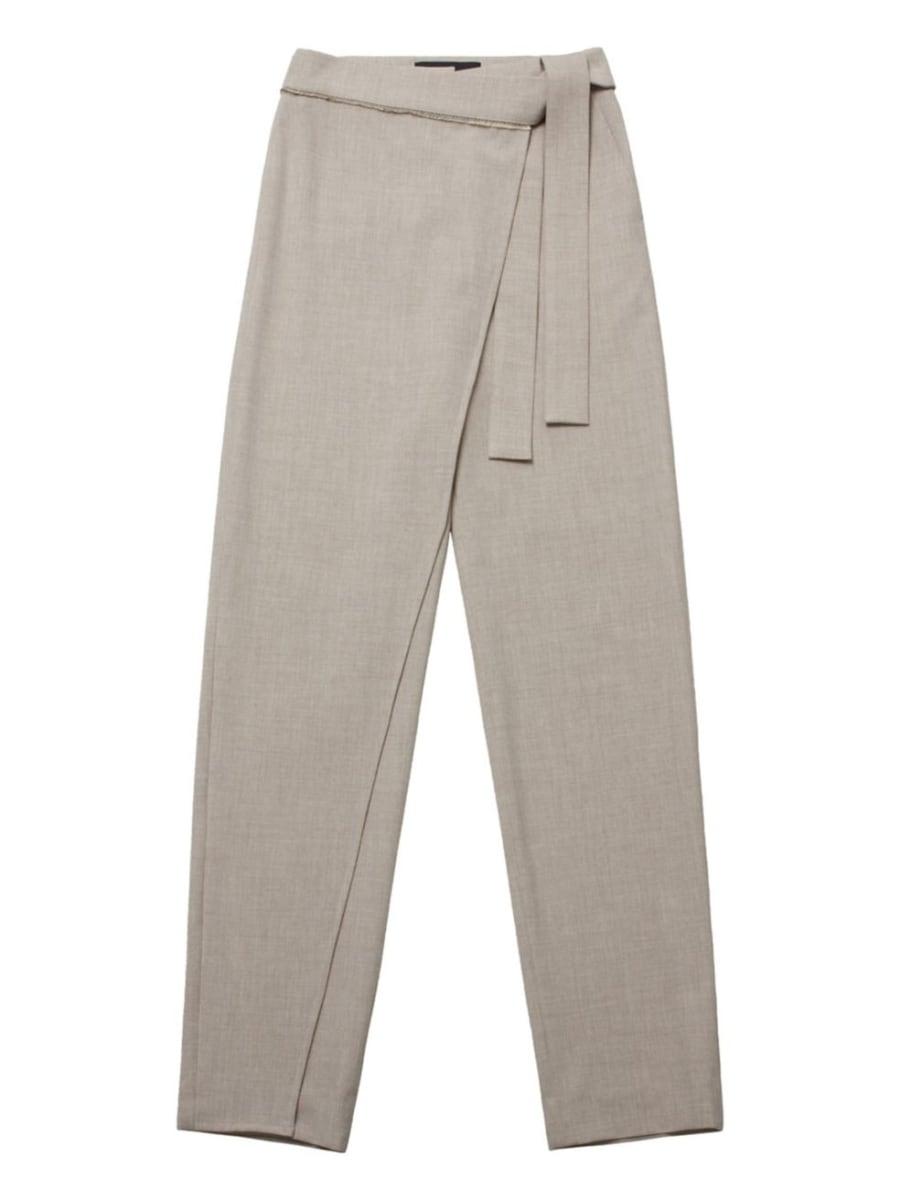 Hudson's Bay - Emma Wrap Tapered Pants