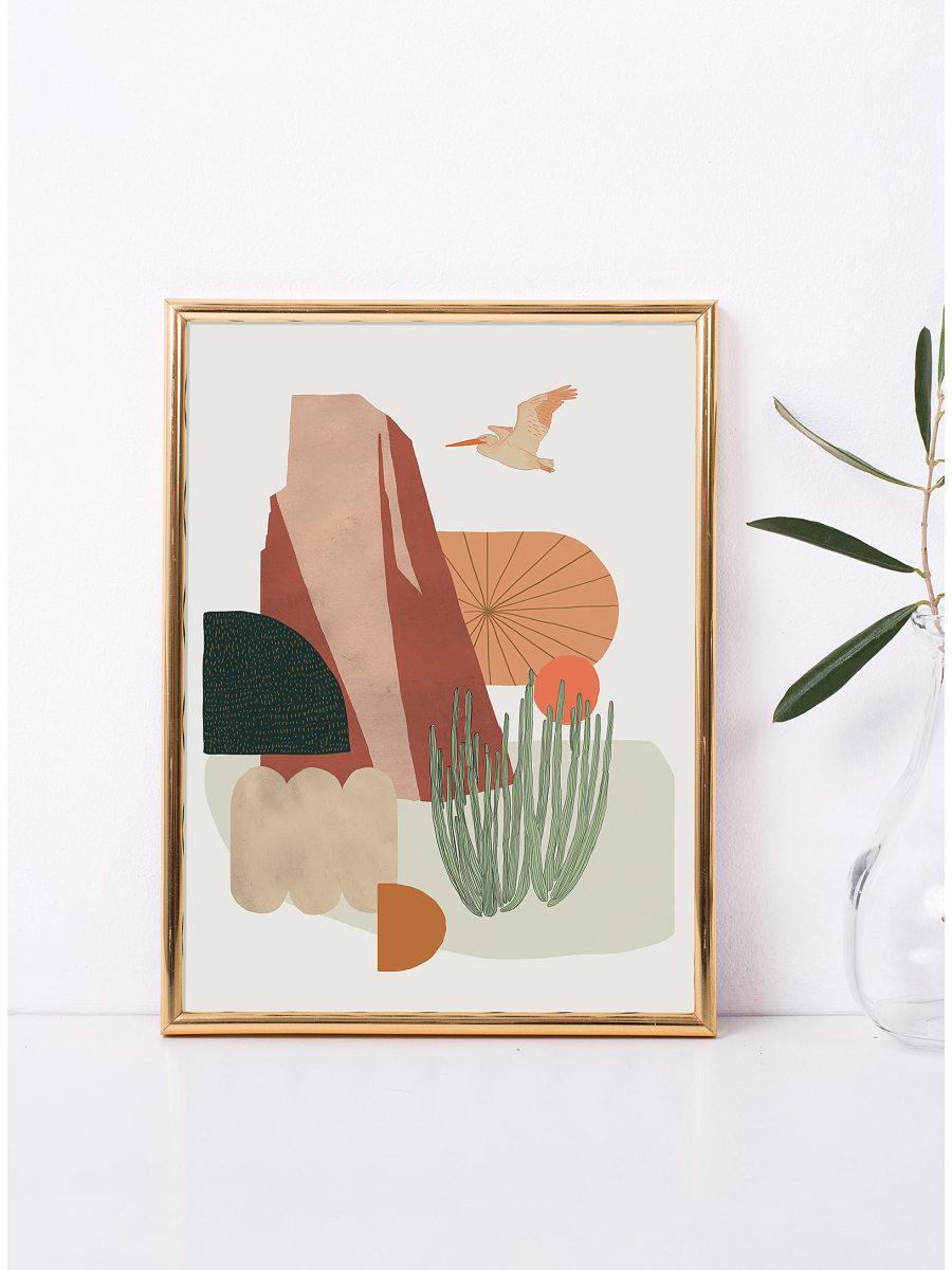 Simons - Baltic Club - California Pelican Art Print