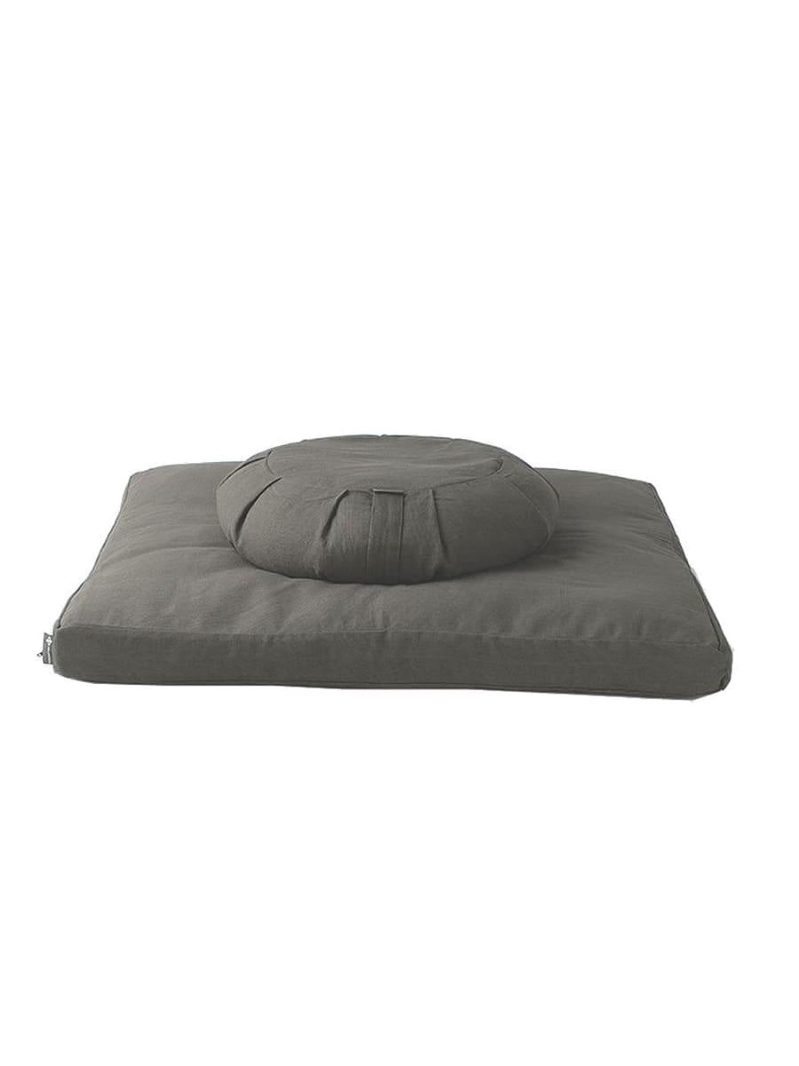 Sportchek - Halfmoon - Sit Set Essential Cotton Round Meditation Cushion and Essential Cotton Zabuton