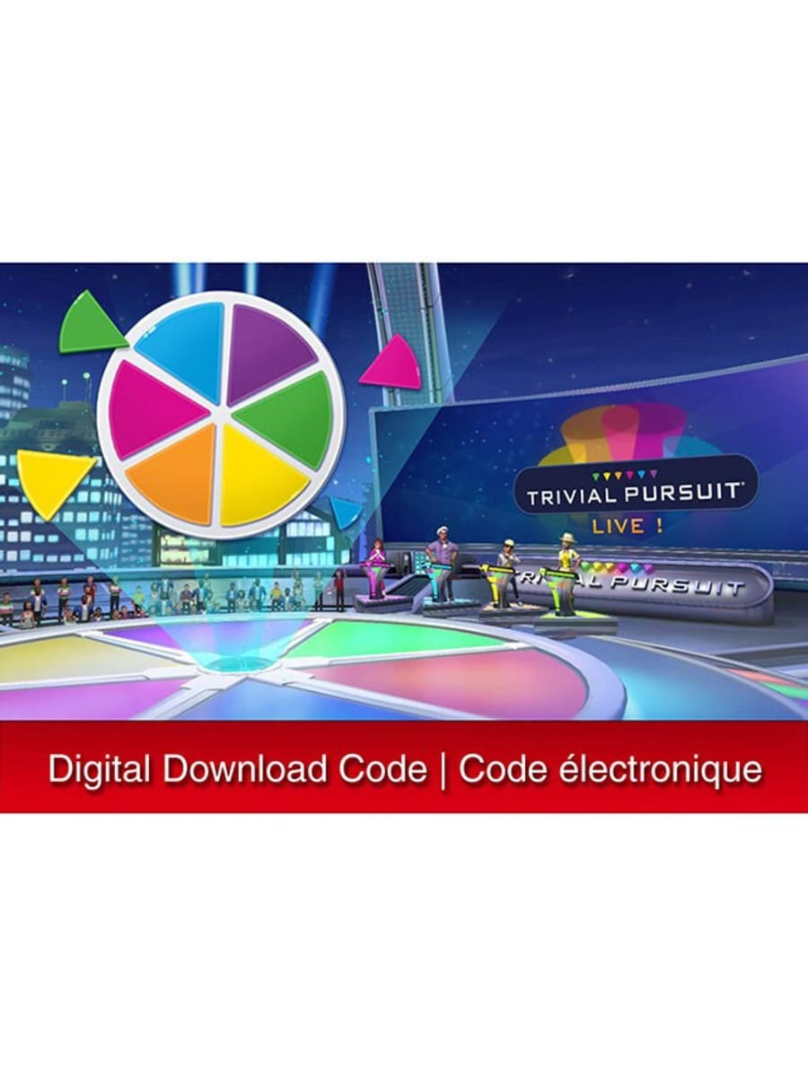 The Source - Nintendo - Trivial Pursuit® Live! (Digital Download) for Nintendo Switch