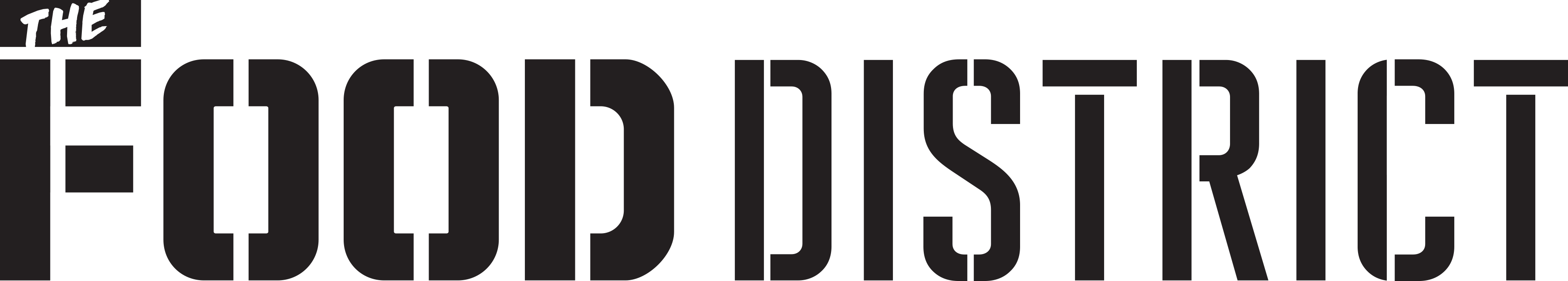 the food district logo