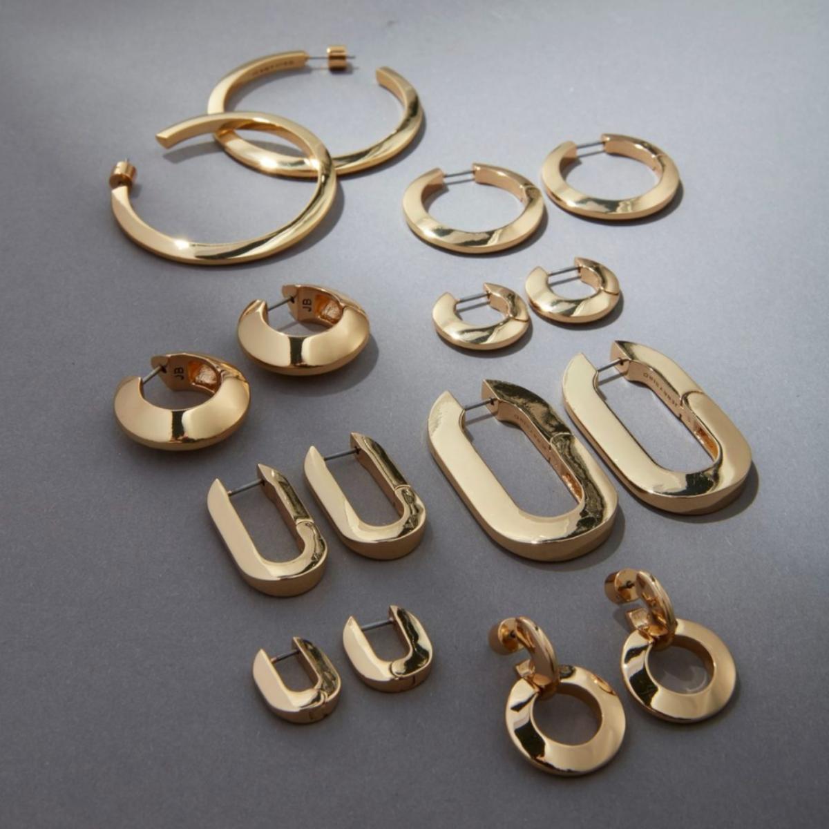 Jenny Bird gold earrings