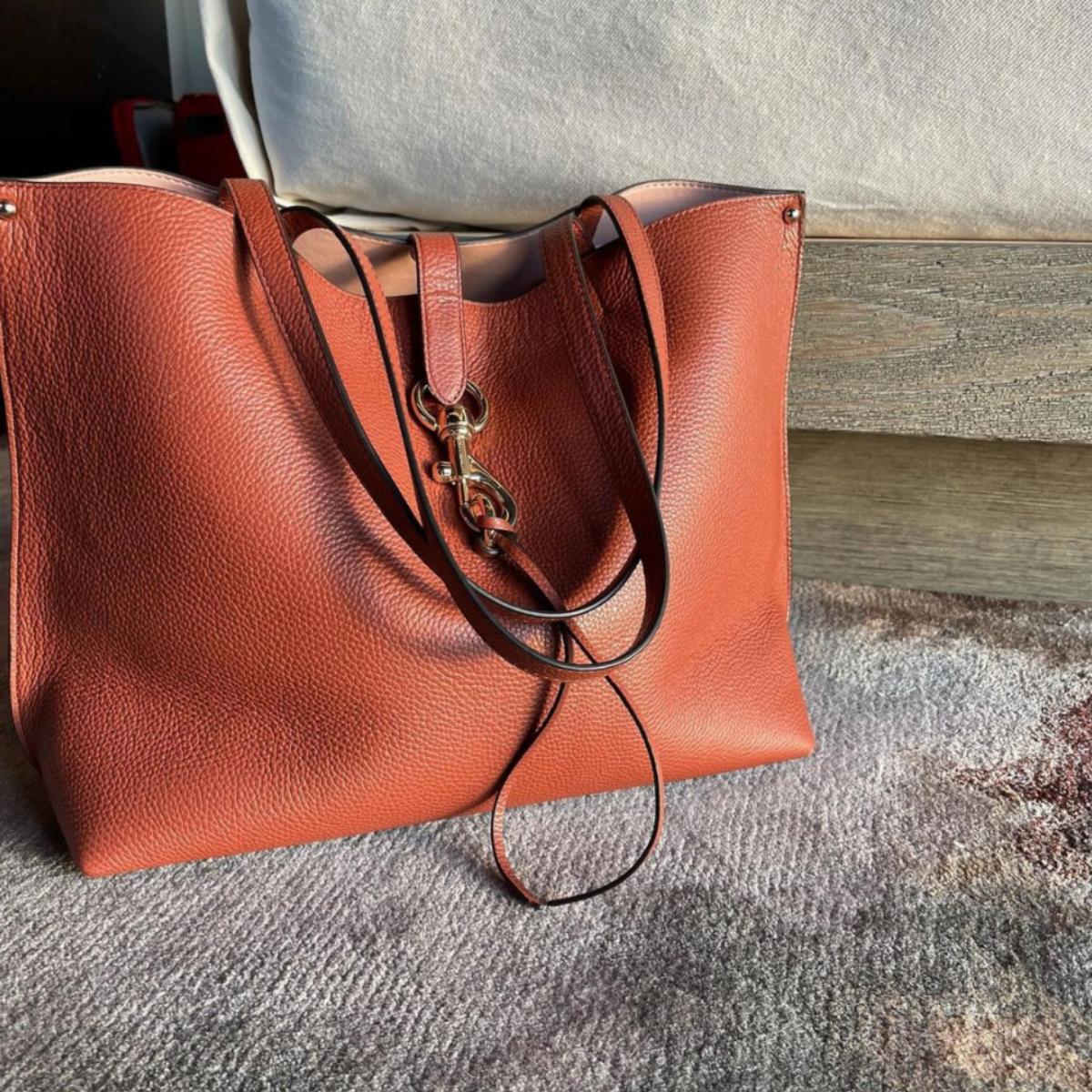 Rebecca Minkoff brown tote bag