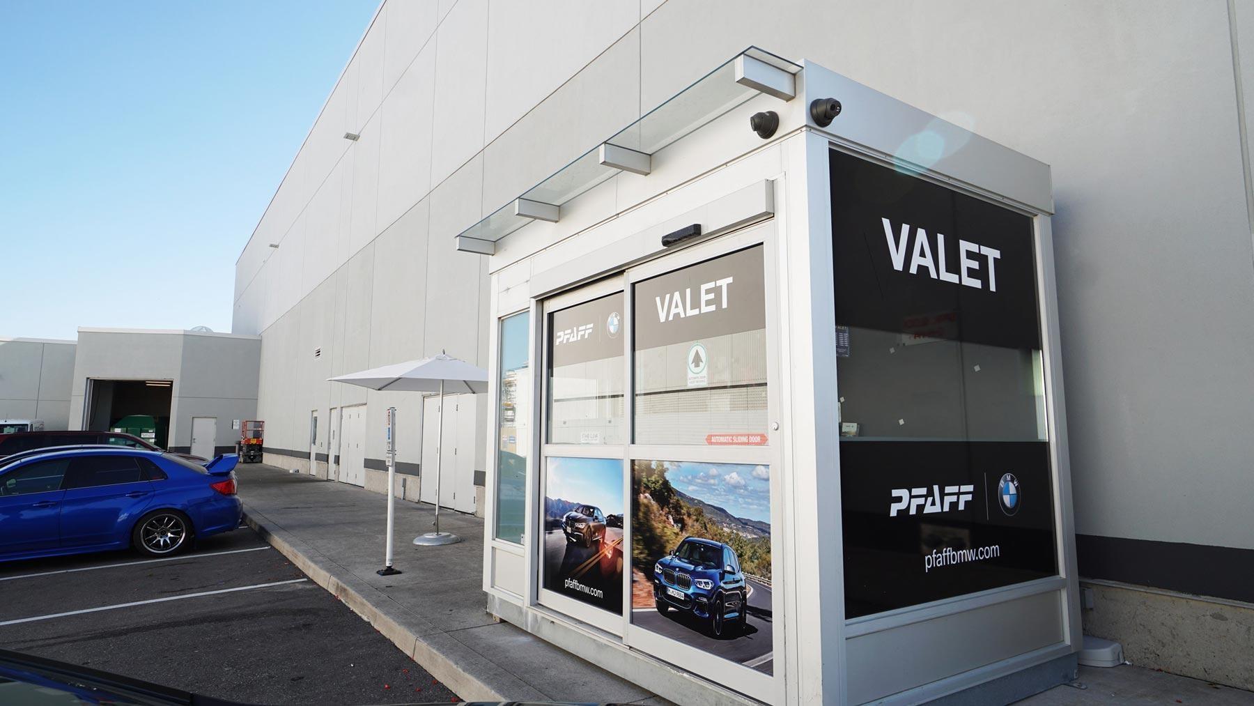 Valet Partnership with Pfaff