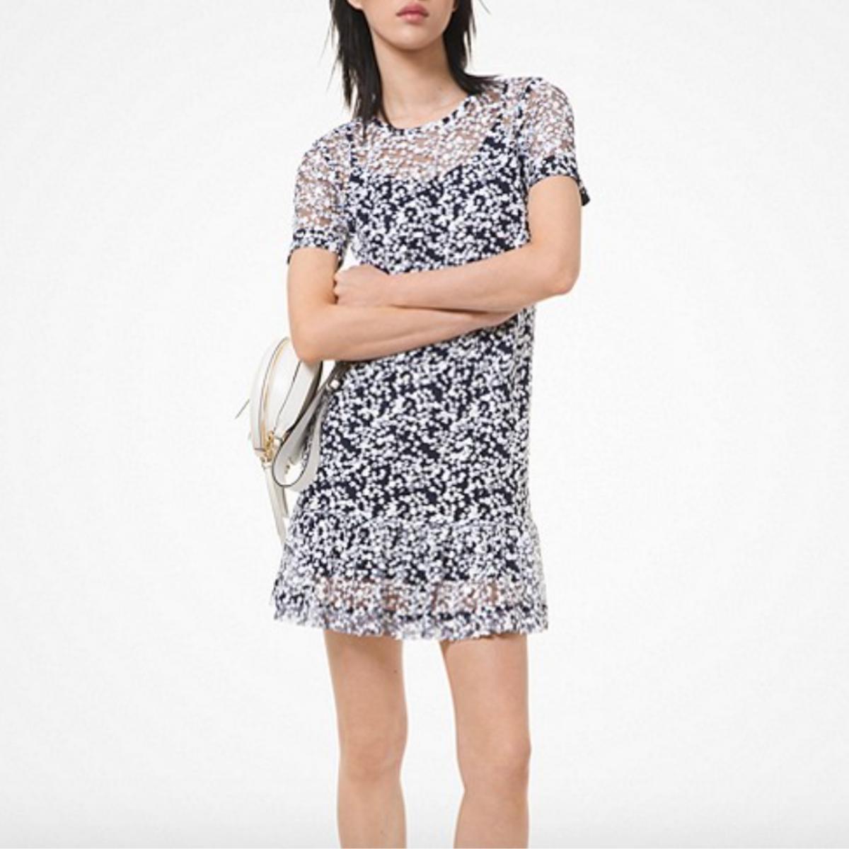 Michael Kors Floral Sequined Dress