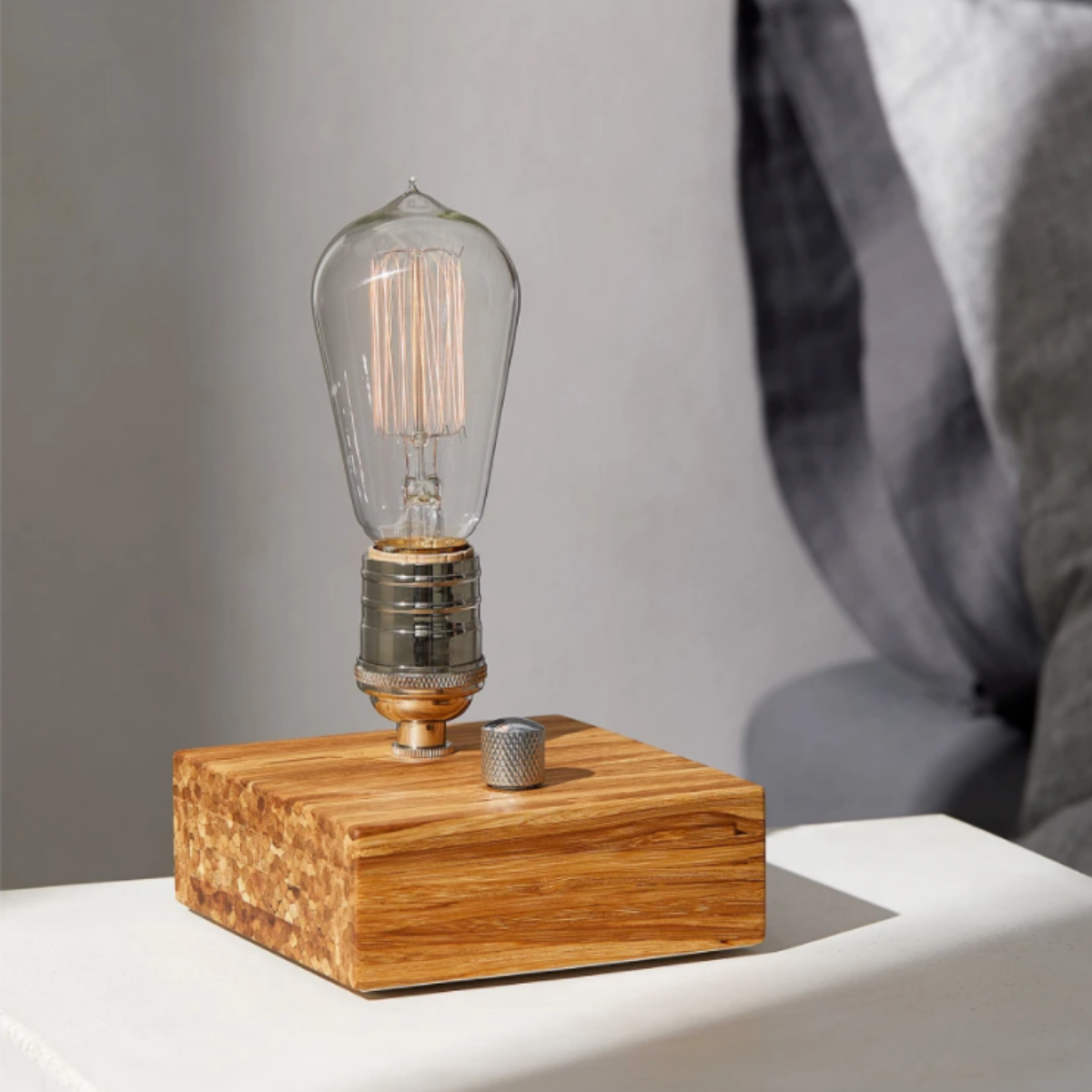 Simons Industrial Block Table Lamp