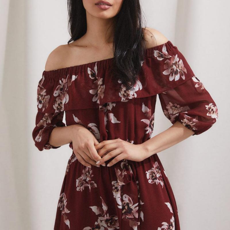 RW & Co. floral dress