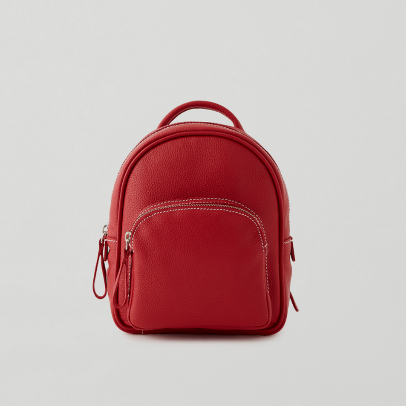 Roots red mini backpack