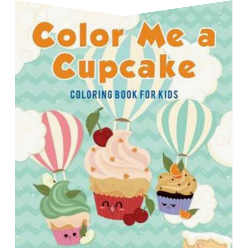 Children's Cupcake Colouring Book from Indigo