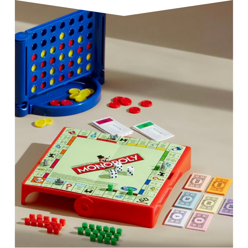Board Games - Connect 4 and Monopoly from Hudson's Bay