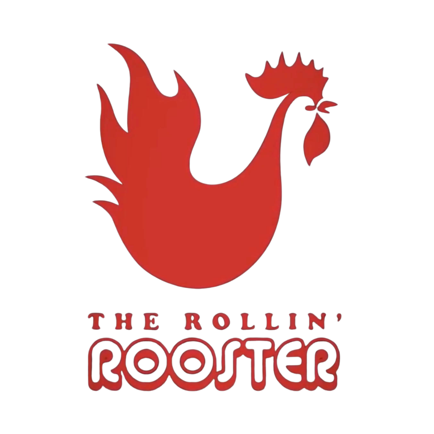 The Rollin' Rooster Logo
