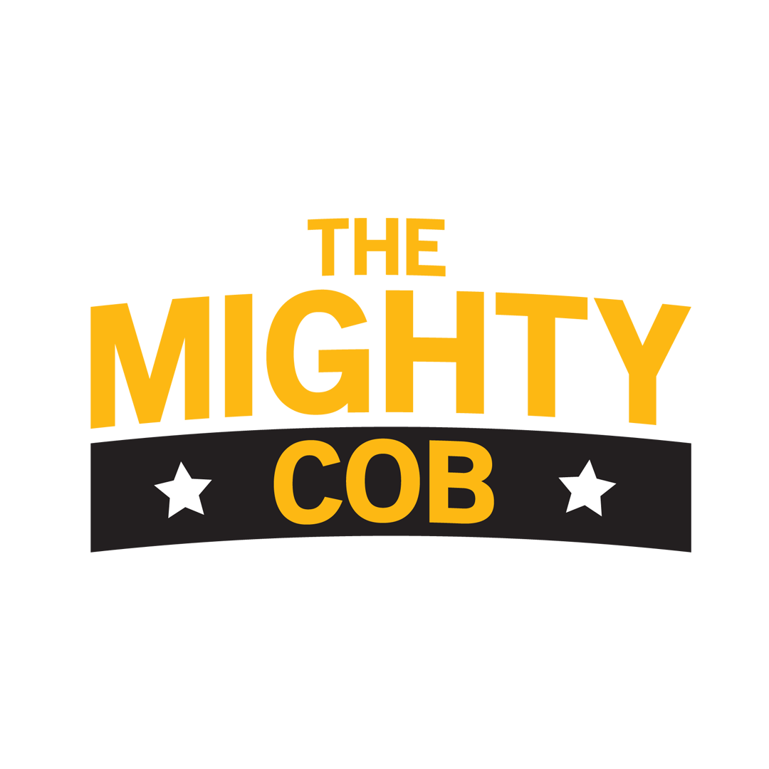 The Mighty Cob Logo