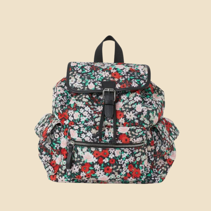H&M floral print backpack