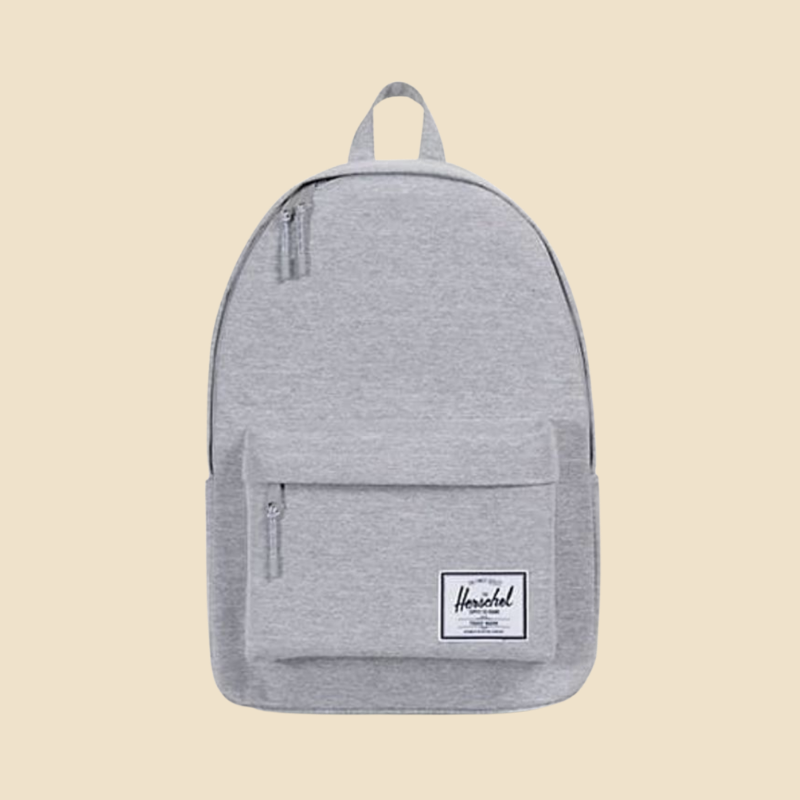 Herschel Supply Co. grey backpack from Hudson's Bay