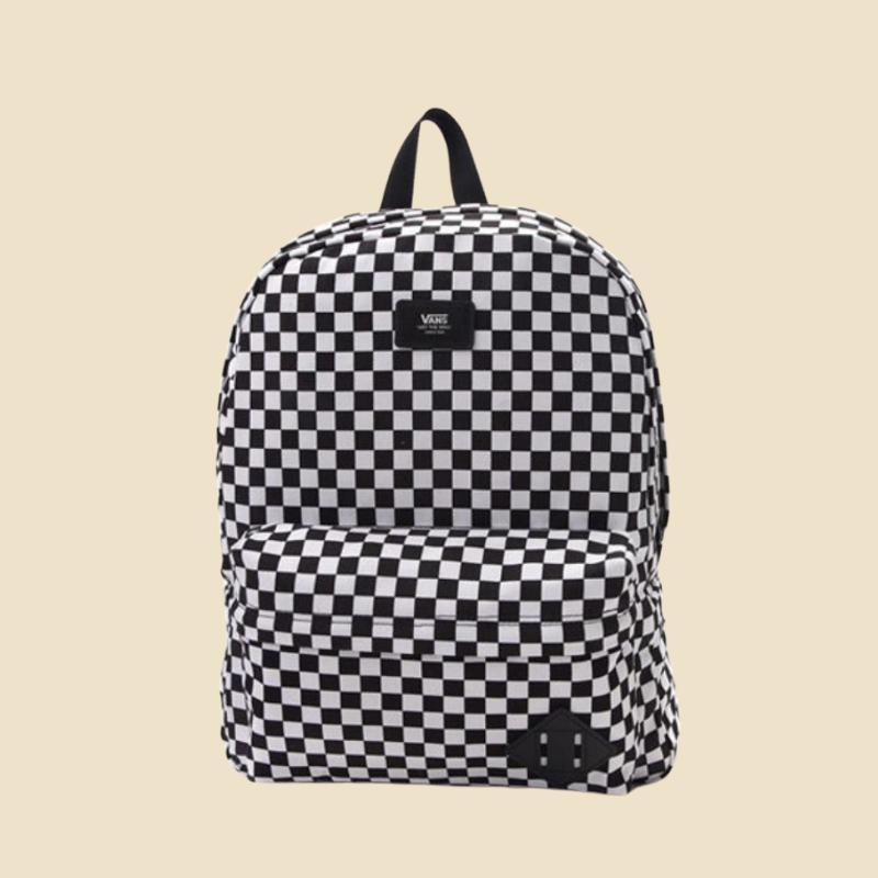 Vans checkered print backpack from Journeys