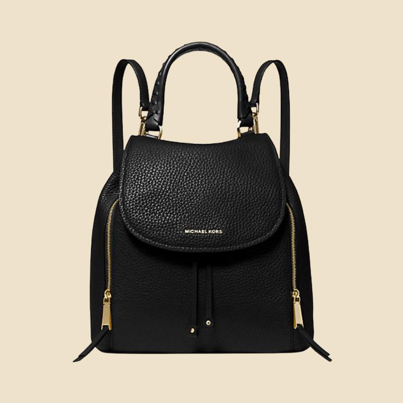 Michael Kors black backpack