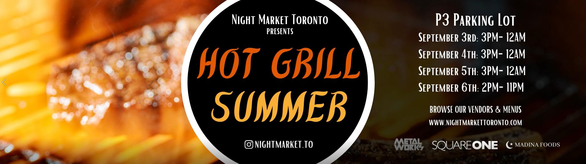 Hot Grill Summer Night Market
