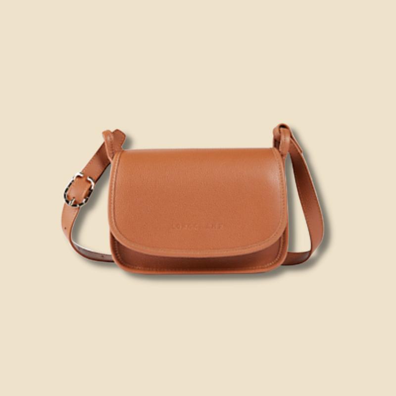 Longchamp brown handbag at Holt Renfrew