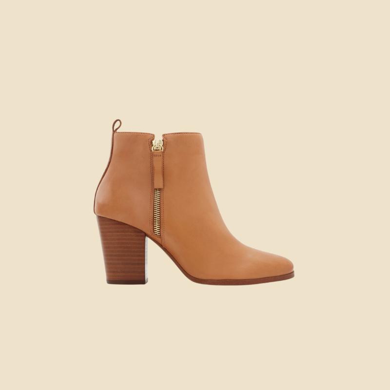 Aldo tan ankle boots