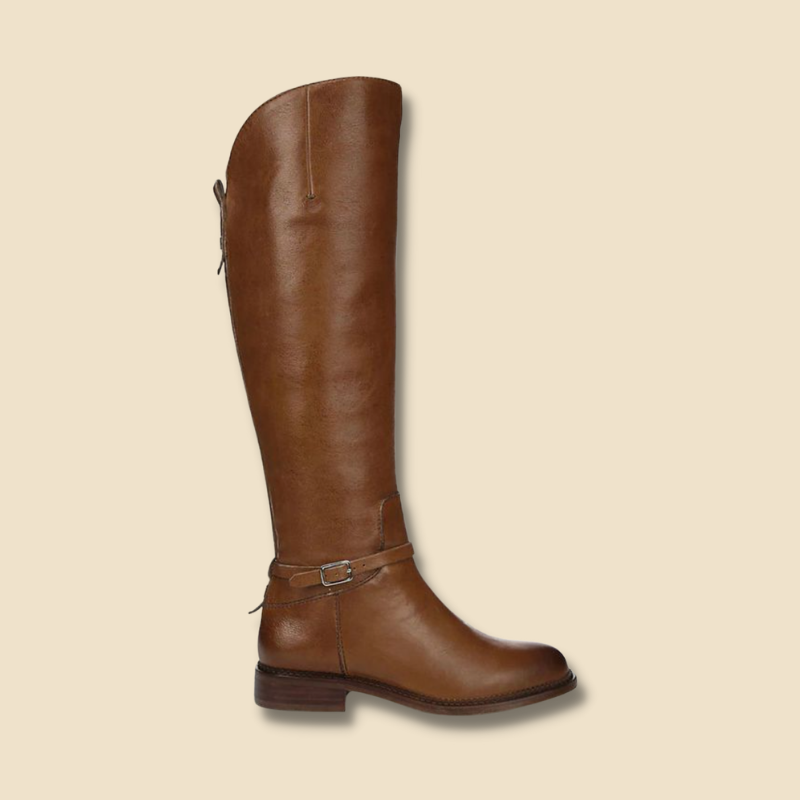 Hudson's Bay knee high brown boots