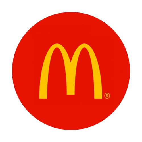 McDonald's (inside Walmart) logo